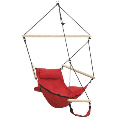 Cadeira Suspensa para exterior/interior: SWINGER RED