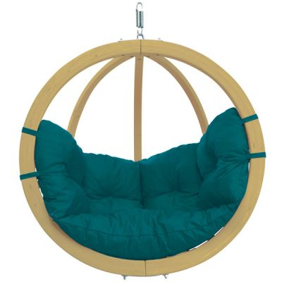 Cadeira Suspensa de Exterior: GLOBO CHAIR GREEN (Teal)