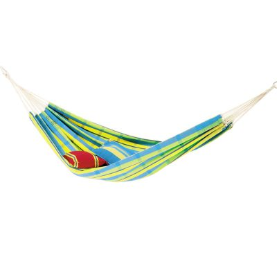 Brazilian XL Hammock: BARBADOS LEMON (pillows not included)