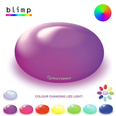 Luz LED Ambiente c/ cores alternadas: MATHMOS BLIMP
