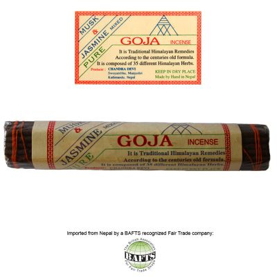 Fair Trade Tibetan Incense: GOJA - MUSK & JASMINE