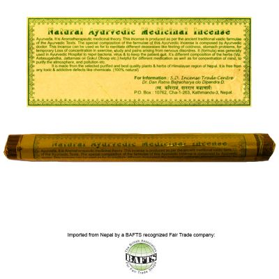 Incenso Ritual Tibetano -FairTrade: NATURAL AYURVEDIC MEDICINAL