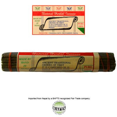 Incenso Tibetano -FairTrade: NATURAL HERBAL