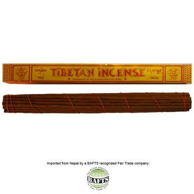 Incenso Tibetano XL -FairTrade: ZIMPU RITUAL - TAGGI