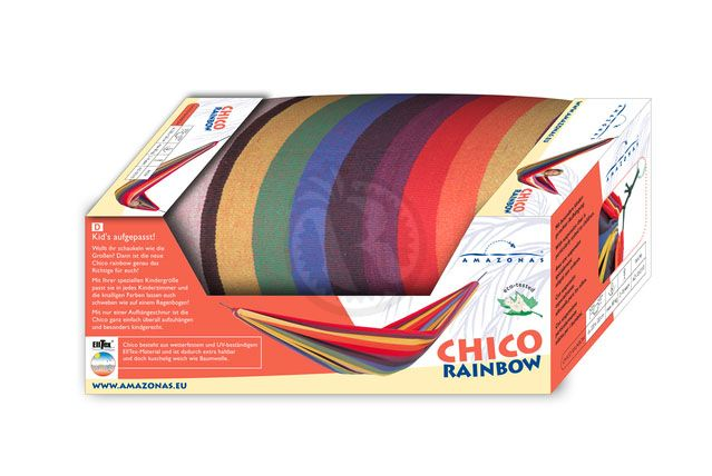 Children Hammock Chico rainbow AMAZONAS