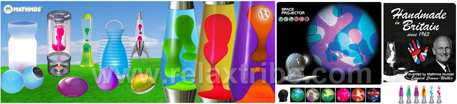 MATHMOS Lava Lamps, Airswitch and colour Changing LED Lights & Projectors